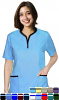 2 POCKET TUNIC TOP STYLE SOLID TOP