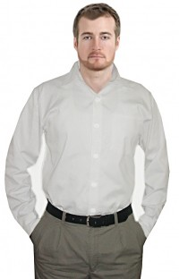 UNISEX FULL SLEEVE TWILL SHIRT WHITE COLOR