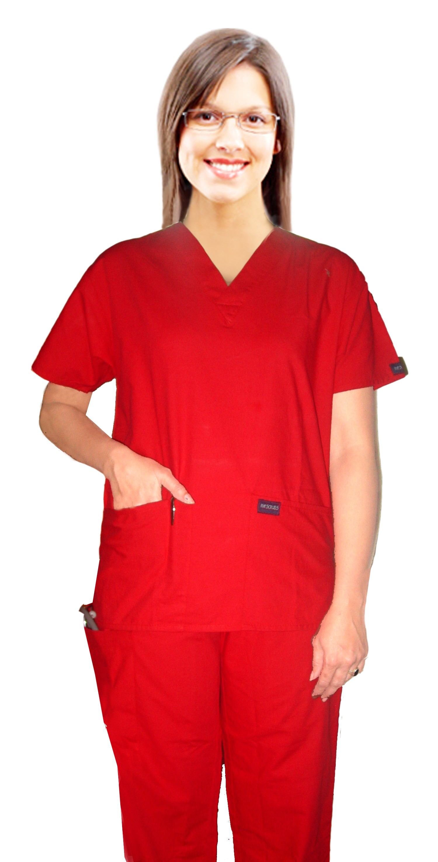 SCRUB SET 5 POCKET SOLID