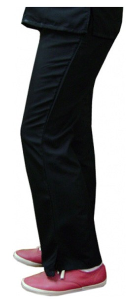 Microfiber fabric qld pant bootcut 2 side pocket waistband with drawstring and elastic both ladies