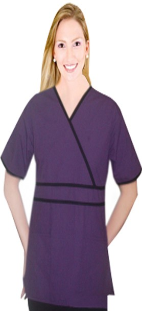 Crossover top horizontal piping solid 2 pocket half sleeve