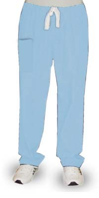Pant 2 pockets elastic waistband with 1 cargo pocket 1 back pocket