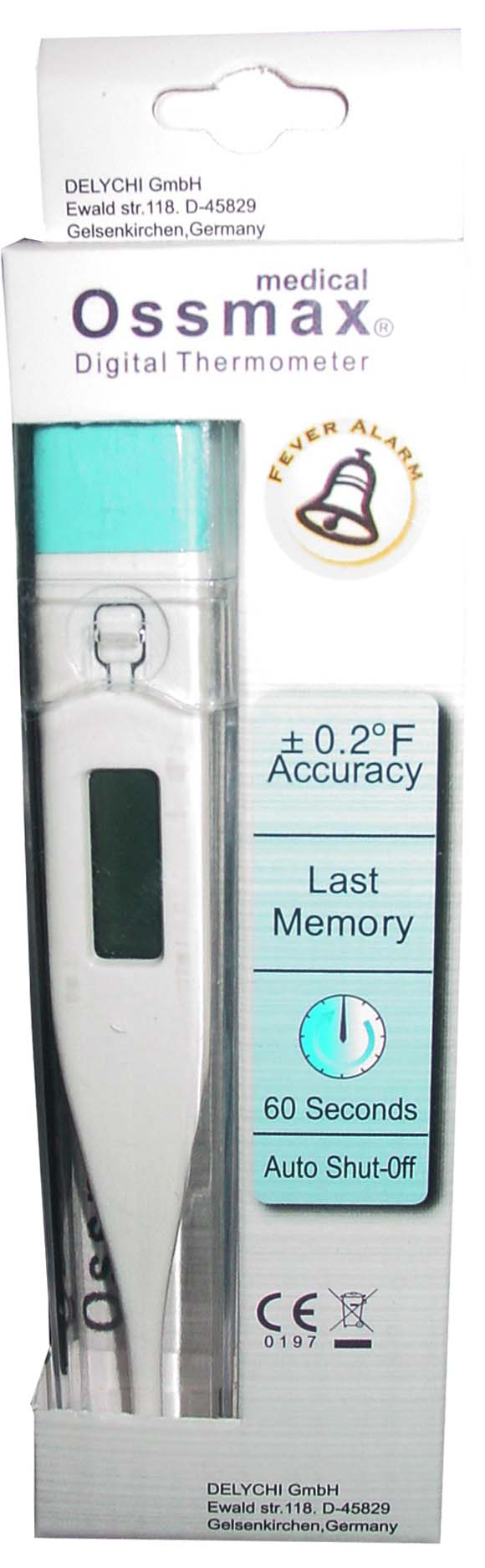 60 sec digital thermometer