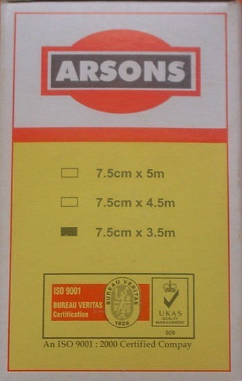 Arsons surgical tape