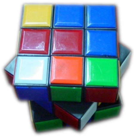 Checker kids puzzle