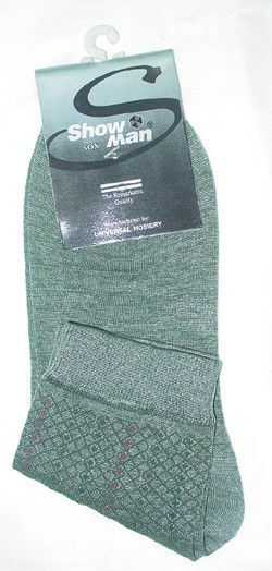 Man's short length socks