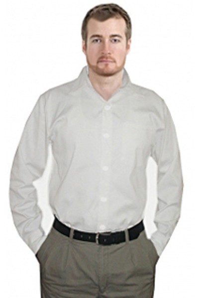Clearance Unisex Half Sleeve Without Pocket Twill Shirt