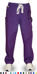 Qld pant 5 pocket 2 side pocket 2 cargo and 1 coin pocket waistband with drawstring and elastic both unisex