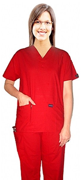 SCRUB SET 5 POCKET SOLID LADIES HALF SLEEVE (TOP 2 POCKET WITH 1 PENCIL POCKET AND PANT 1 CARGO POCKET & 1 BACK POCKET)