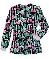 Christmas Peace and Joy Printed Jacket 2 Pocket Unisex Full Sleeve With Rib