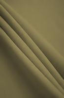 Poplin Beige/Pea Green Loose Fabric (52% Polyester & 48  Cotton ) Per Meter