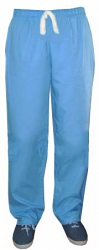 Microfiber fabric qld pant 2 pockets normal elasticated waistband unisex pant