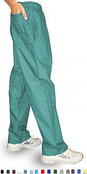 Microfiber fabric qld pant 3 pocket (2 side pocket 1 back pocket) waistband with elastic and drawstring both unisex