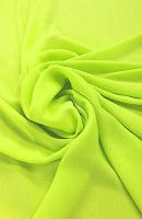 Microfiber Lemon Yellow Loose Fabric (100% Polyester) Per Meter