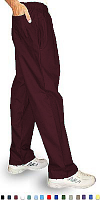 Microfiber Pant 3 pocket(2 side pocket 1 back pocket )waistband with elastic and drawstring both unisex