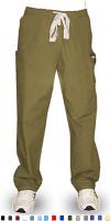 Microfiber Pant 2 cargo  pocket waistband with elastic and drawstring both unisex