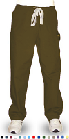 Microfiber Pant 5 pocket 2 side pocket 2 cargo and 1 coin  pocket waistband with drawstring and elastic both unisex