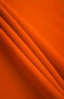 Poplin Orange  Loose Fabric (52% Polyester & 48  Cotton ) Per Meter