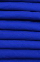 Stretch Royal Blue Loose Fabric (35% Cotton 63% Polyester 2% Spandex) Per Meter