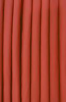 Poplin Tangerine Loose Fabric (52% Polyester & 48  Cotton ) Per Meter