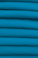Poplin Turquoise Loose Fabric (52% Polyester & 48  Cotton ) Per Meter