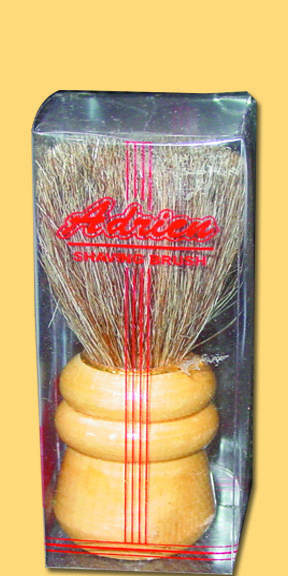 Barber shaving brush omega