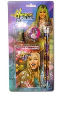 Hanna montana writing pad