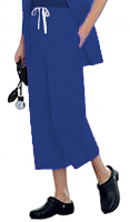 Microfiber fabric capri ladies with 2 side pockets with 1 back pocket (inseam is 23 inches)