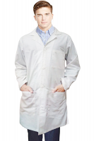 """Canvas Lab Coat Unisex (170 gsm) Fabric  Full Sleeve With 4 pocket and Side Access and Button Front Closure(Lenght 36"""",38"""",40"""",42"""")"""
