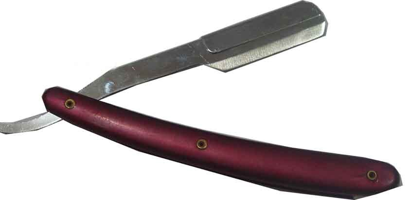 Barber blade for cutting and shaving in multiple colors
