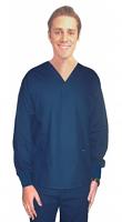Scrub set 4 pocket solid full sleeve unisex with rib (2 pocket top and 2 pocket pant)