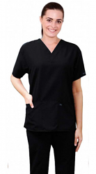 MICROFIBER SCRUB SET 6 POCKET HALF SLEEVE UNISEX  (3 POCKET TOP & 3 POCKET PANT)