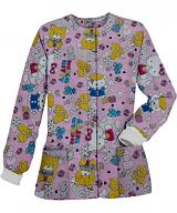 Hello Kitty Printed Jacket 2 Pocket Unisex Full Sleeve With Rib