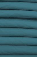 Poplin Light Carribean Blue Loose Fabric (52% Polyester & 48  Cotton ) Per Meter