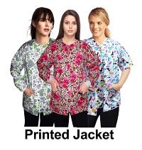 Clearance jacket 2 pocket printed unisex full sleeve any print