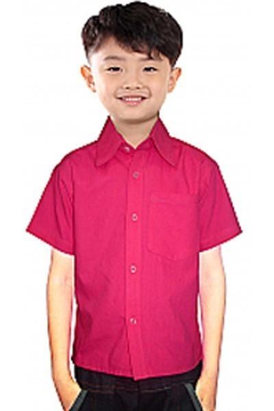 CHILDREN POPLIN SHIRT 1 CHEST POCKET
