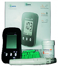 Caresens blood glucose monitoring system - glucose meter