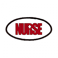 Embroidery Patch NURSE ( Big Red)
