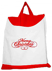 Christmas logo shopping bag