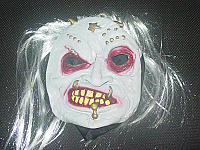 Helloween gry mask cap