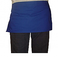 Waist short apron without pocket