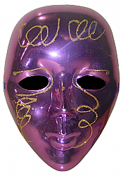 Helloween purple mask