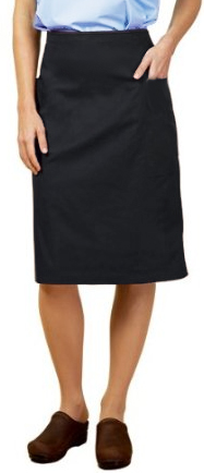 (microfiber fabric) cargo pockets ladies skirt