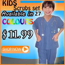 kid scrub set