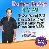 barber jacket