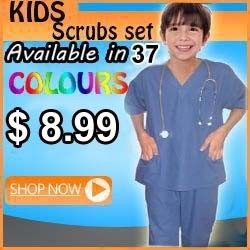 kids scrubs