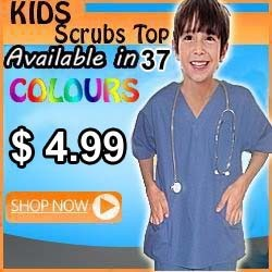 kids scrub top