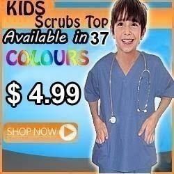 kids scrub top