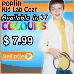 kids labcoat
