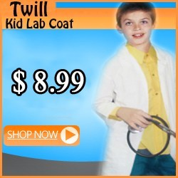 kids twill labcoat